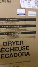 Maytag MED8100DW 27  White Front Load Electric Dryer NIB T2  9519