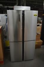 HiSense HQD20058SV 36  Stainless Side by Side Refrigerator  48225 HRT