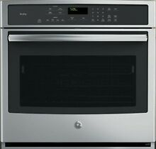GE  Profile PT7050SFSS 30  Stainless Single Electric Wall Oven NOB  30978 HRT
