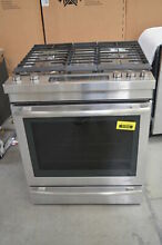 Jenn Air JDS1450DS 30  Stainless Dual Fuel Slide In Range Convection  29923 MAD