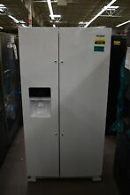 Whirlpool WRS325SDHW 36  White Side By Side Refrigerator  47199 HRT