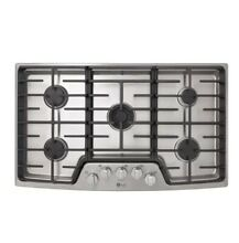 LG LSCG367ST 36  Stainless Natural Gas 5 Burner Cooktop NOB  50119 HRT
