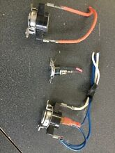 GE WASHER DRYER THERMOSTAT SET OEM P N WE4M181 WE4M528 WE4M137 WE4M457 WE4M245