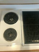 Jenn Air 30  Electric Cooktop with Grill and Downdraft Option
