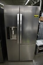 LG LSXS26366S 36  Stainless Side By Side Refrigerator NOB  50847 HRT