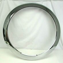 Bosch Thermador Washer Dryer Chrome Outer Door Window Ring NEW 684414