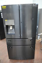 Samsung RF28JBEDBSG 36  Black Stainless French 4 Door Refrigerator NOB  25234 HL