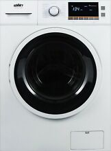 Summit Front Load Washer Dryer Combo with 2 0 Cu  Ft Capacity White  24 Inch