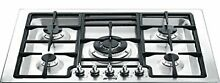 Smeg PGFU30X Classic Aesthetic Gas Cooktop with 5 Gas Burners  30 Inches