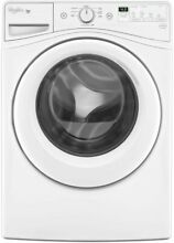 Whirlpool Front Load Washing Machine with 4 2 Cu  Ft Capacity White  27 Inch