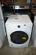 Whirlpool WED85HEFW 27  White Front Load Electric Dryer NOB  23884 CLN
