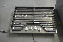 Whirlpool WCG51US0DS 30  Stainless Gas Cooktop 4 Burner NOB  29467 MAD