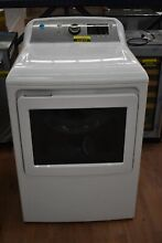 GE GTD72EBSNWS 27  7 4 cu ft Energy Star White Front Load Electric Dryer  51613