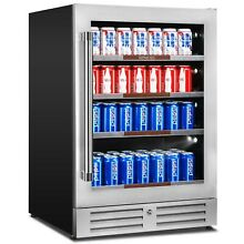 Sipmore 24  Built in or Freestanding Beverage Cooler with Smart Control System