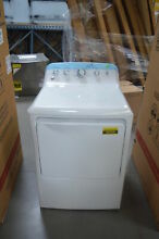 GE GTD42EASJWW 27  White Front Load Electric Dryer NOB  26309 CLW