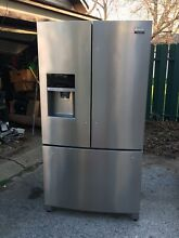 Frigidaire Gallery 26 8 cu  ft  Stainless Steel French Door Refrigerator