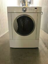 Frigidaire Electric White Front Load Dryer GLEQ2152ES 5 8 Cubic