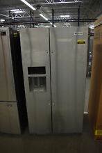 KitchenAid KRSF505ESS 36  Stainless Side by Side Refrigerator  38989 CLN