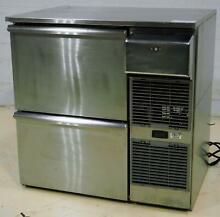 Glastender BB36R SS D  SS Two Drawer Bar Cooler Refrigerator