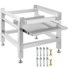 Washing Machine Stand Pedestal for Washer and Dryer 300LBS  with Tray 25x25 Inch