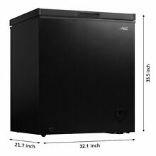 Arctic King Freezer ARC070S0ARBB 7 cu ft  Chest Freezer   Black   Brand New