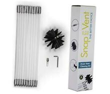 14  Quick Snap Cleaning Kit with Drill Attachment for Dryer Hose and Vent Duct C