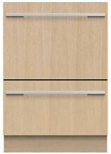 Fisher Paykel DD24DTI9N 24  Custom Panel Double Drawer Dishwasher NOB T2 MAD