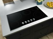 Jenn Air 36 Inch Electric Radiant Cooktop JEC3536BS