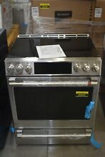 GE CHS900P2MS1 30  Stainless Slide in Electric Range NOB  85845 HRT