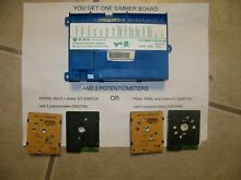 Thermador SQ003 gas simmer control kit   board 00422882   NEW potentiometers