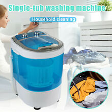Compact Portable Washer with Mini Washing Machine Dehydrator for Home Apartments