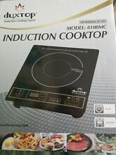Duxtop Induction Cooktop Model  8100MC  Black Gold   Brand New in open box