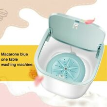 Mini Portable Washing Machine Laundry Washer Rotating USB For Camping Apartments
