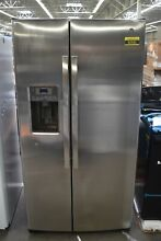 GE GSE25GSHSS 36  Stainless Steel Side By Side Refrigerator NOB  92583 HRT