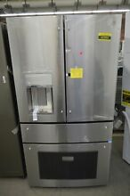 GE PVD28BYNFS 36  Stainless French Door Refrigerator  NOB  92994 HRT