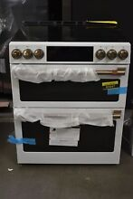 GE CES750P4MW2 30  White Double Oven Electric Range NOB  93947 HRT