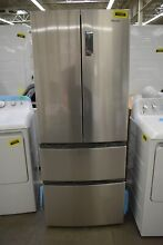 Haier HRF15N3AGS 28  Stainless CD French Door Refrigerator NOB  101857