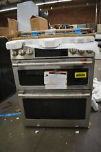 GE Cafe CGS750P2MS1 30  Stainless Slide In Double Oven Gas Range NOB  101886