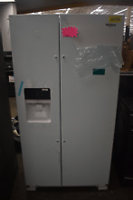 Whirlpool WRS325SDHW 36  White Side by Side Refrigerator OB  39256