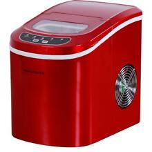 Frigidaire 26 lbs  Freestanding Ice Maker in Red