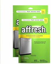 Whirlpool W10282479 Affresh Dishwasher Cleaner 12 Count Jumbo Size Pack  2 Pack