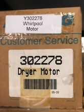 302278 Genuine Maytag Dryer Motor Y302278 NEW PART OPEN BOX