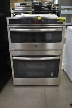 GE JT3800SHSS 30  Stainless Microwave Oven Combo Wall Oven NOB  103551