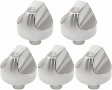 5pc WB03X32194 WB03T10329 Cooktop Burner Dial Knob for GE Cafe Series Gas Range
