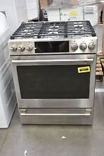 GE Cafe CGS700P2MS1 30  Stainless Slide In Gas Range NOB  105577