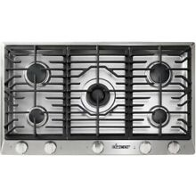 Dacor HCT365GSNG 36  Stainless Steel Natural Gas Cooktop NOB  49423