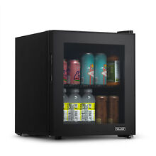 NewAir 60 Can Beverage Fridge with Glass Door