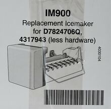 Amana Refrigerator Ice Maker Replacement Kit   D7824706Q   part number IM900