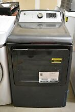 GE GTD72GBPNDG 27  Diamond Gray Front Load Natural Gas Dryer NOB  92020