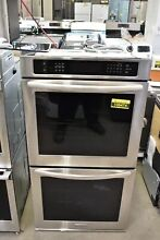 KitchenAid KEBS277BSS 27  Stainless Steel Double Wall Oven NOB  106474